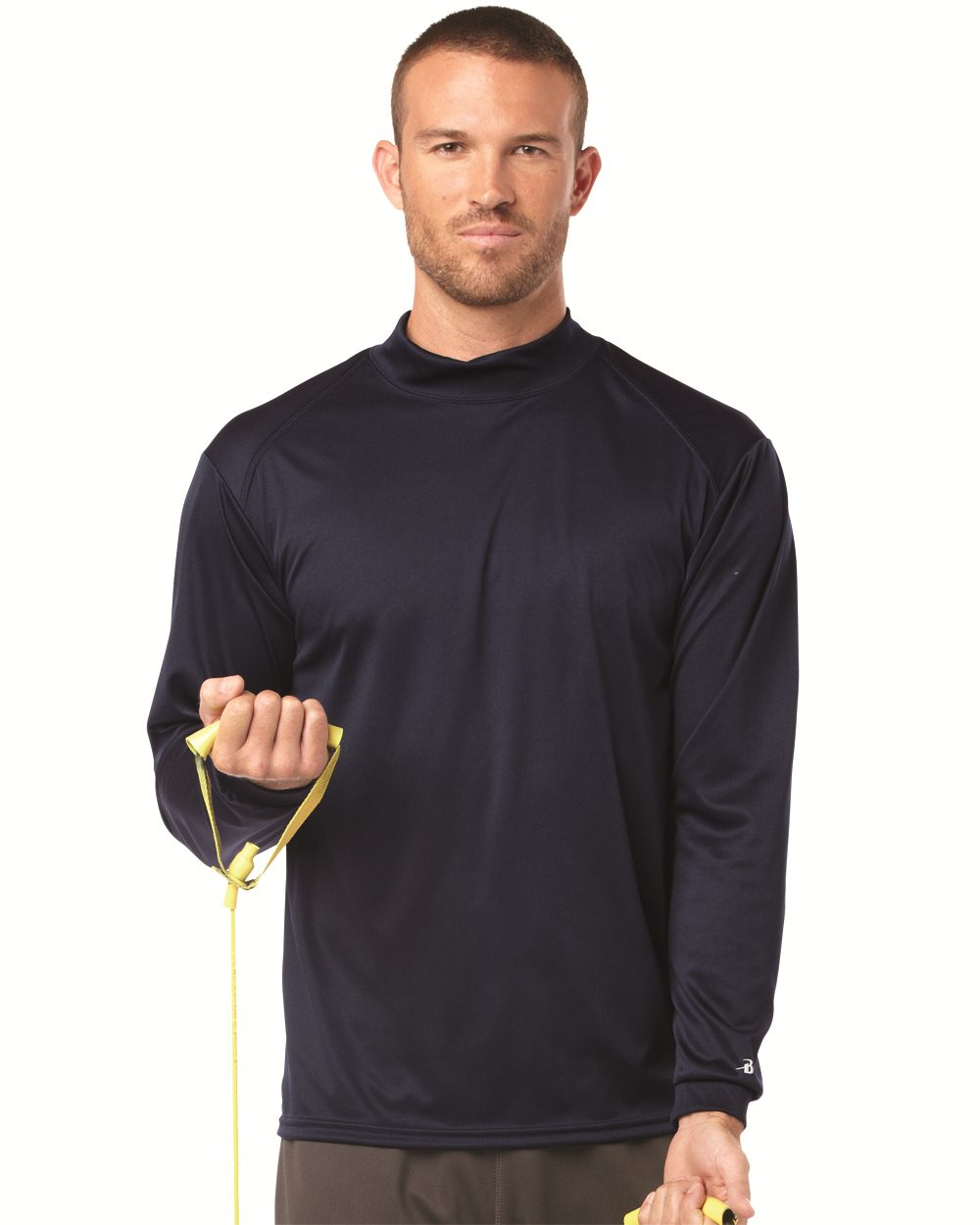 Badger Sport 4156 B-Dry Core Long Sleeve Mock Turtleneck