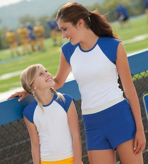 Badger Sport 7202 Ladies' Cheerleader Shorts