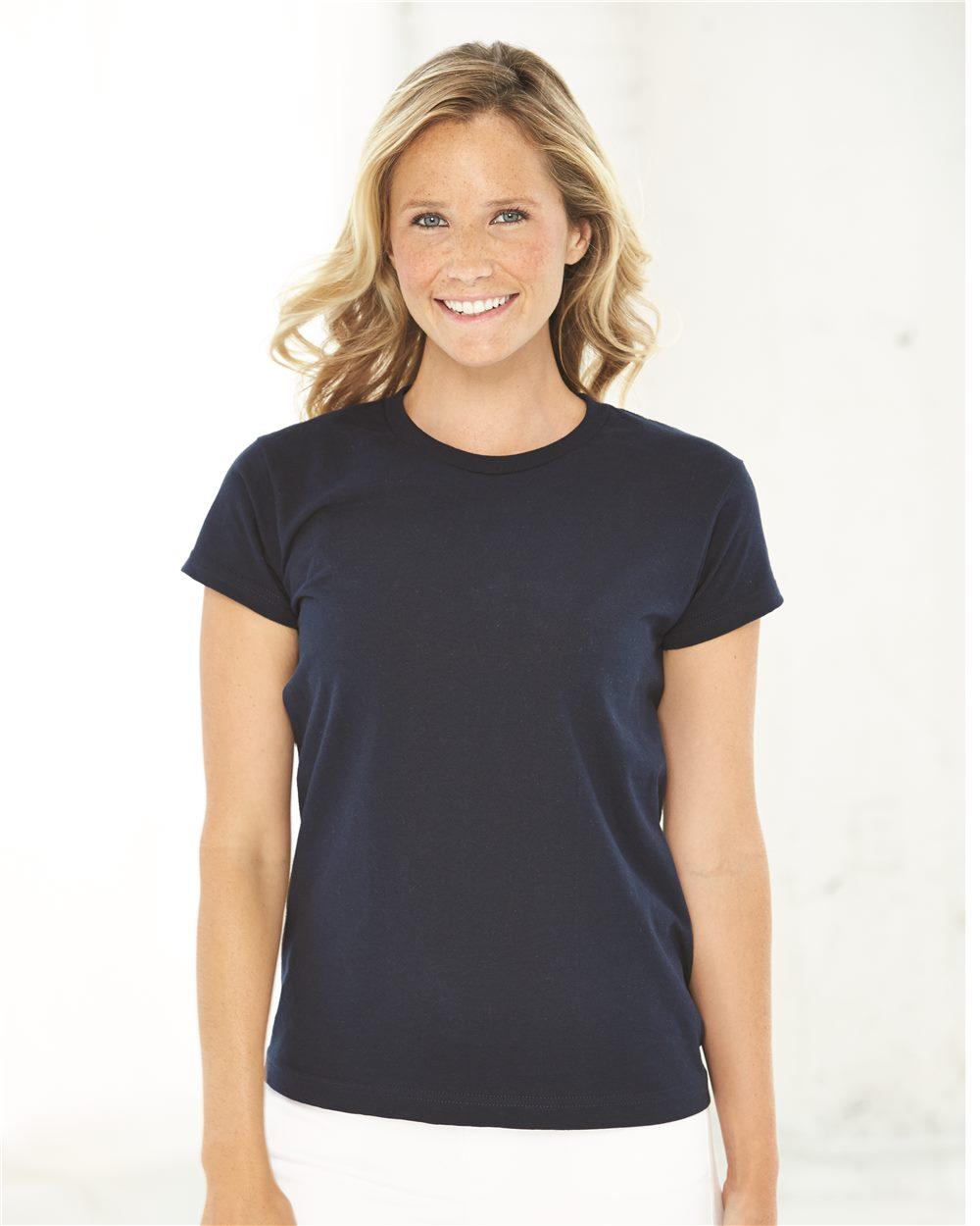 Bayside 3325 - Ladies' USA Made Short Sleeve Shirt