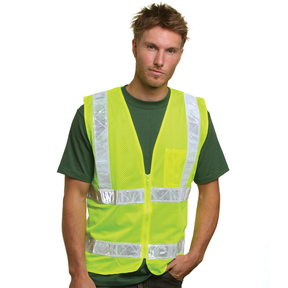 Bayside 3785 Mesh Safety Vest
