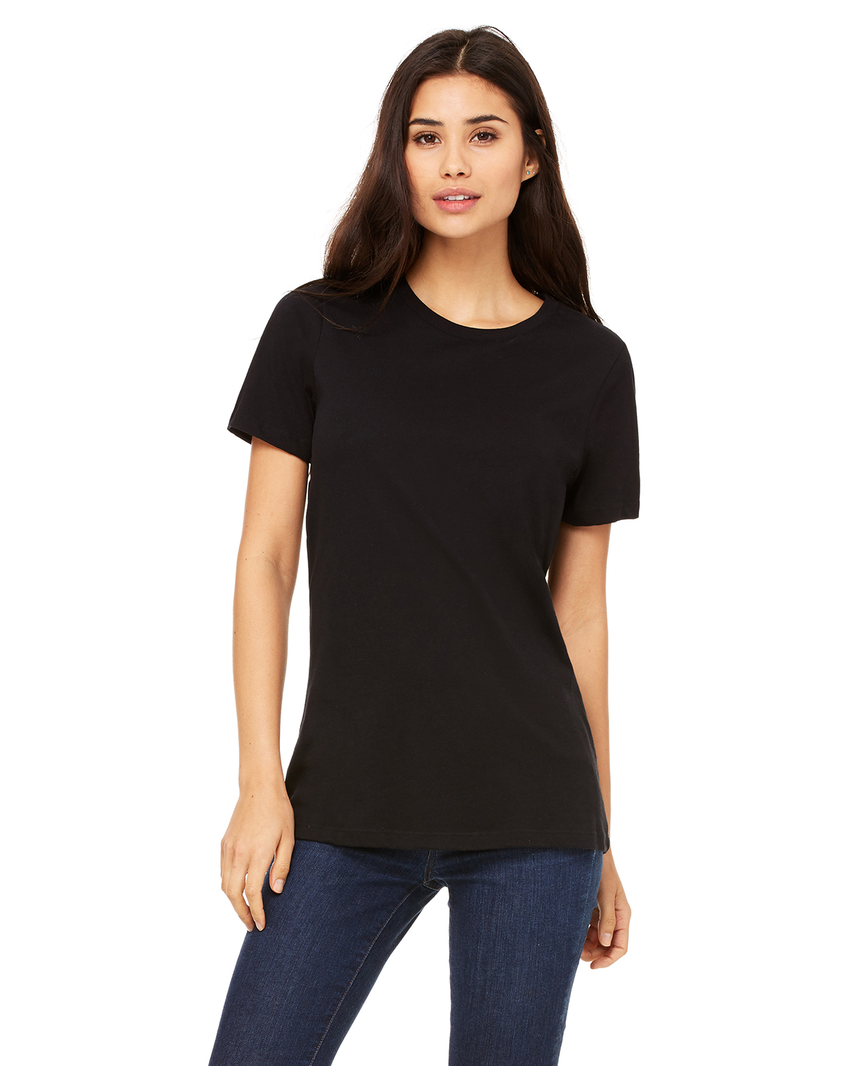 Bella 6400 - Missy Short Sleeve Crew Neck T-Shirt