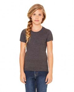 Bella 9002 - Girl Short Sleeve Jersey T-Shirt