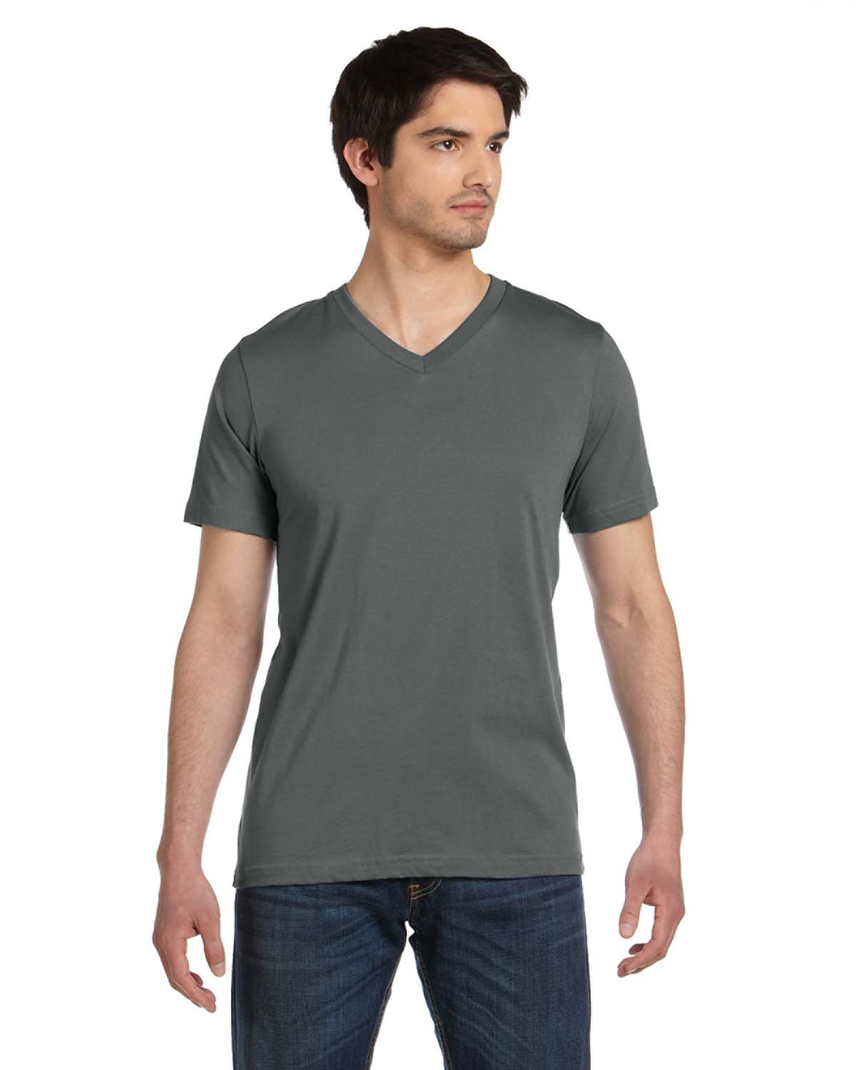 Bella + Canvas - 3005U Unisex Made in the USA Jersey Short-Sleeve V-Neck T-Shirt