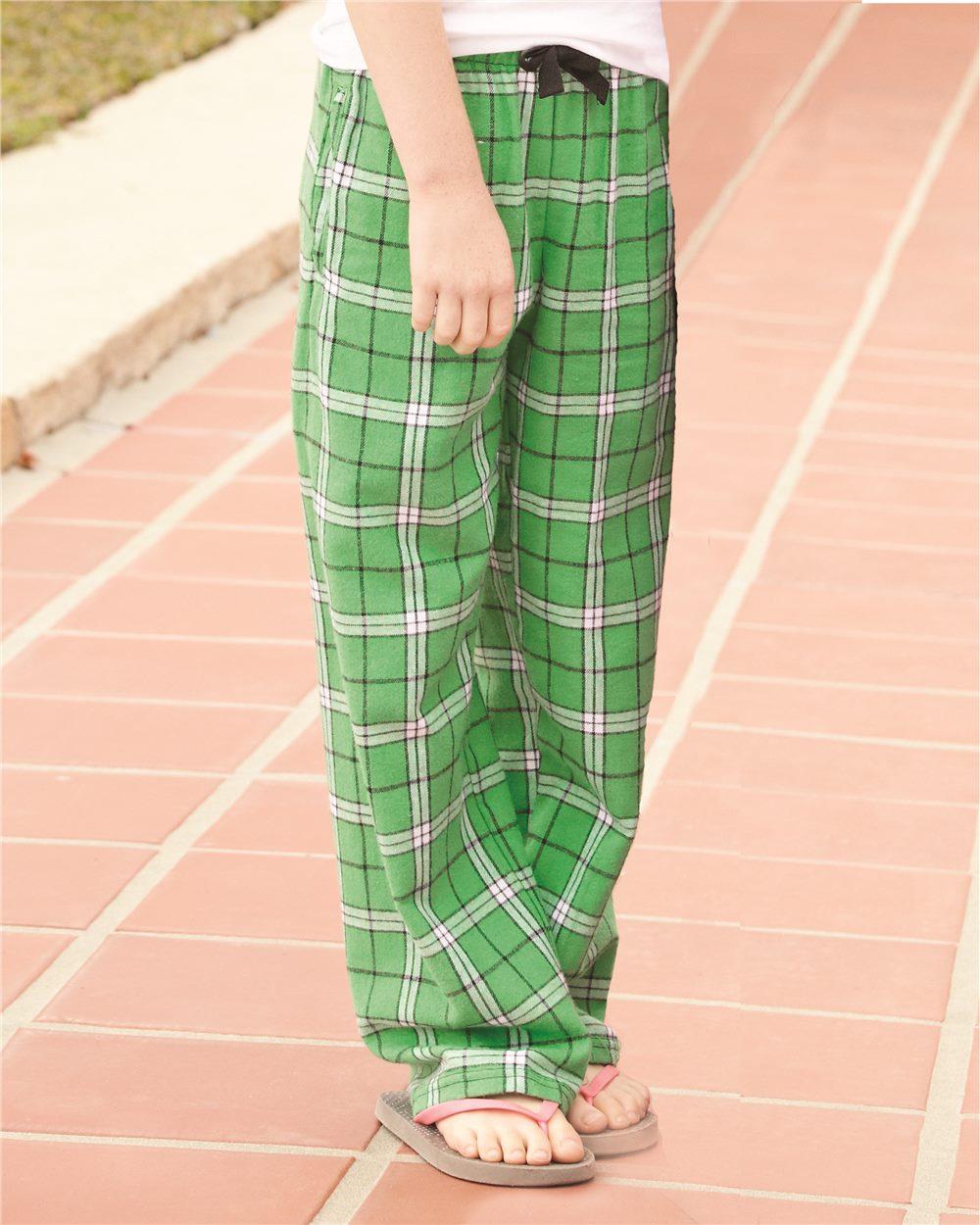 Boxercraft F20Y - Youth Team Pride Fashion Flannel Pants ...