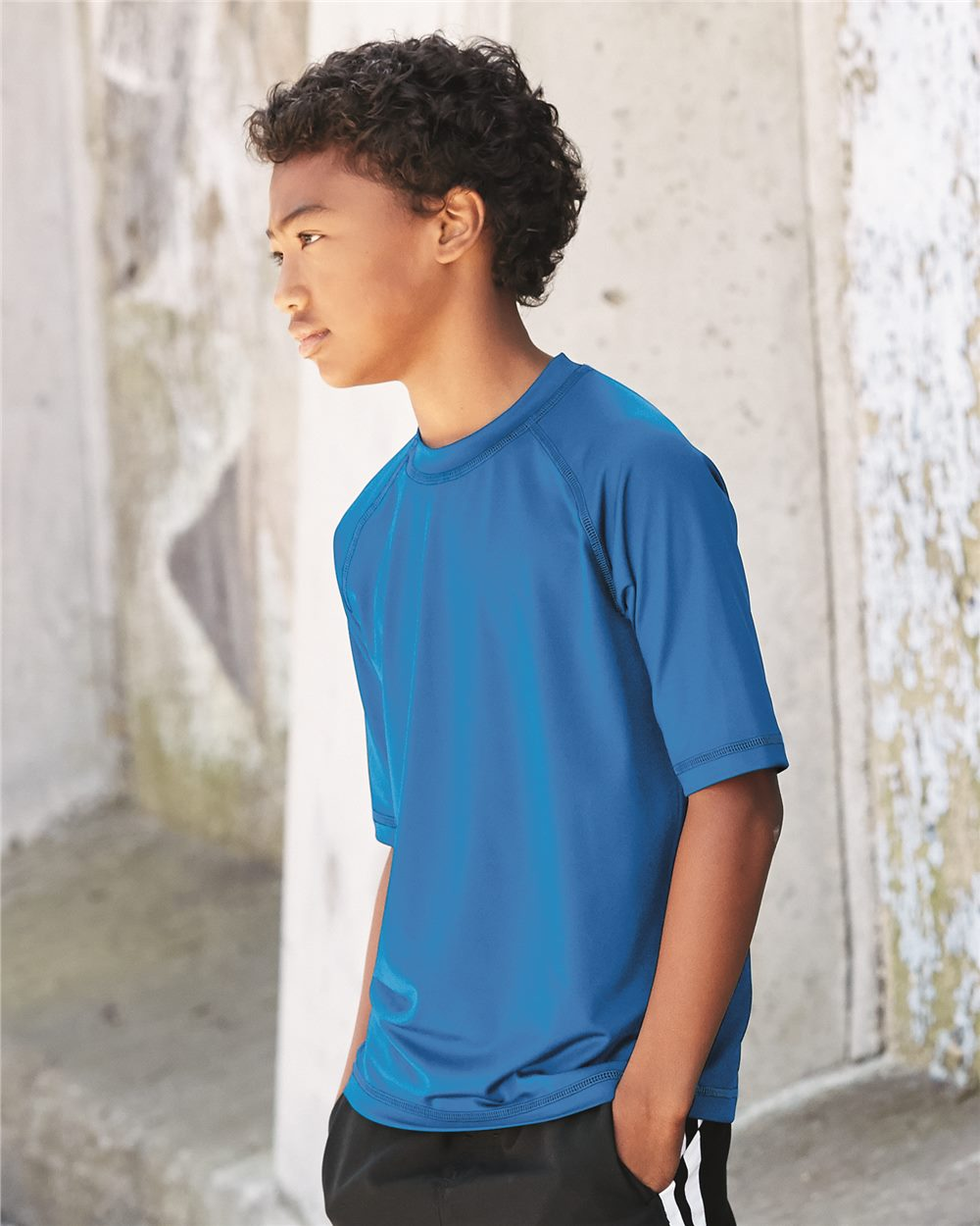 Burnside B4150 - Youth Rash Guard Shirt