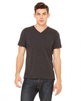Canvas 3415 - Triblend V-neck T-shirt