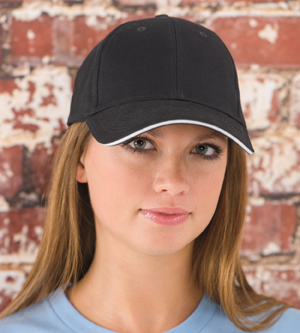 KC Caps 6213 Lightweight Twill Sandwich Cap