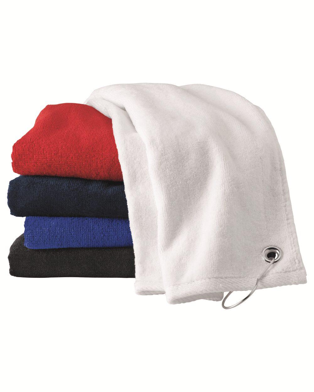 Carmel Towel Company C1518GH - Velour Hemmed Towel with ...