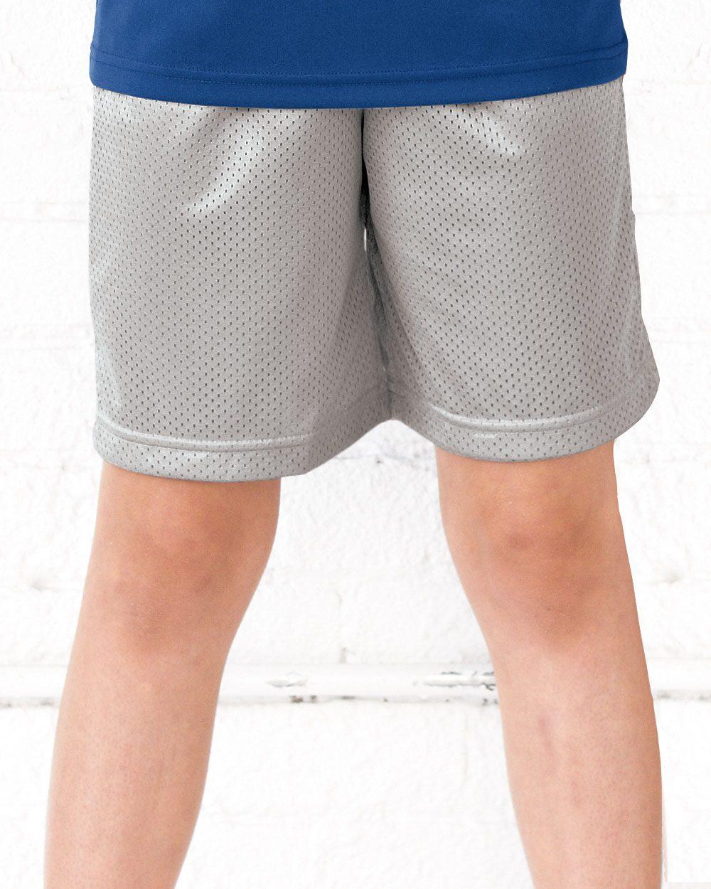 Champion 8173 Youth Mesh Shorts