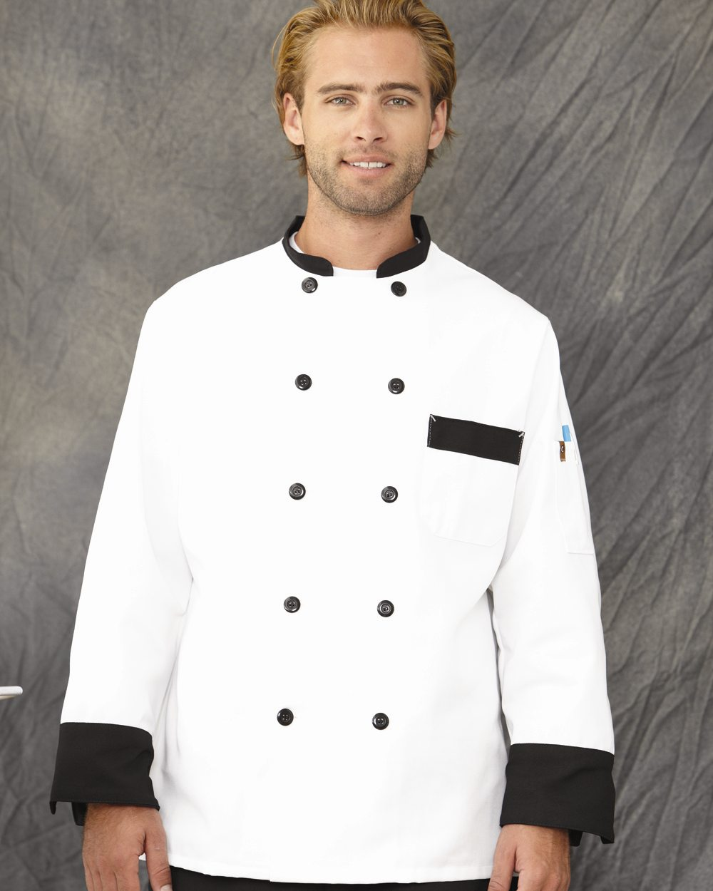 Chef Designs KT74 Garnish Chef Coat
