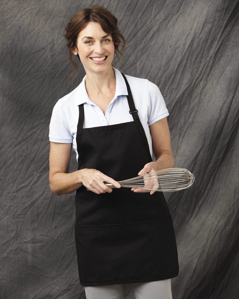 Chef Designs TT32 Short Premium Bib Apron