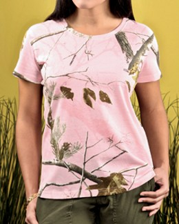 c34cfa56 Code V 3685 - Ladies' Realtree Camouflage T-Shirt $12.14 - Women's T-Shirts