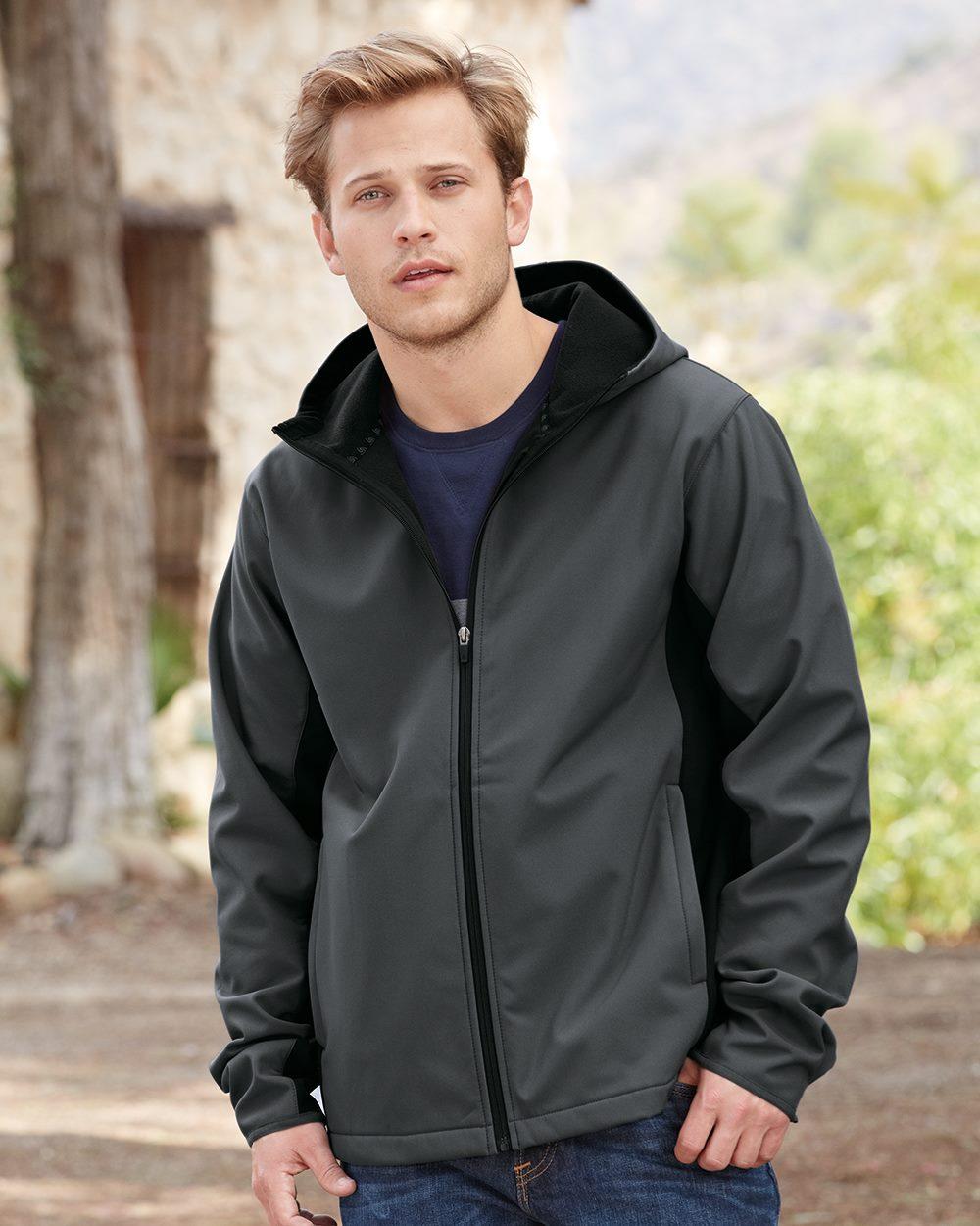 Colorado Clothing 9612 - Hooded Soft Shell Jacket
