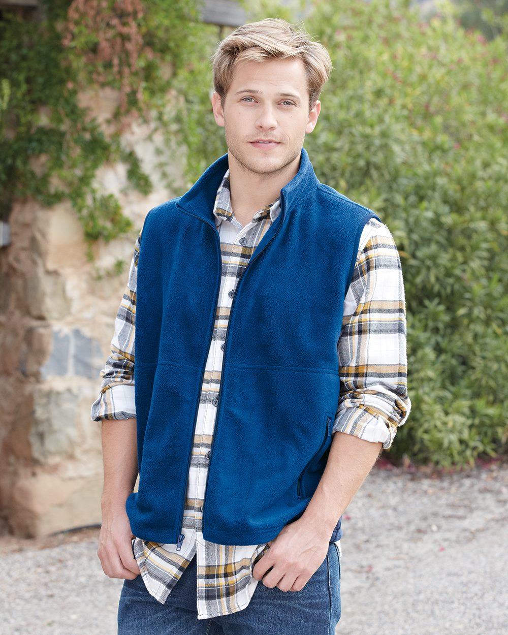 Colorado Clothing 9631 - Sport Fleece Full Zip Vest