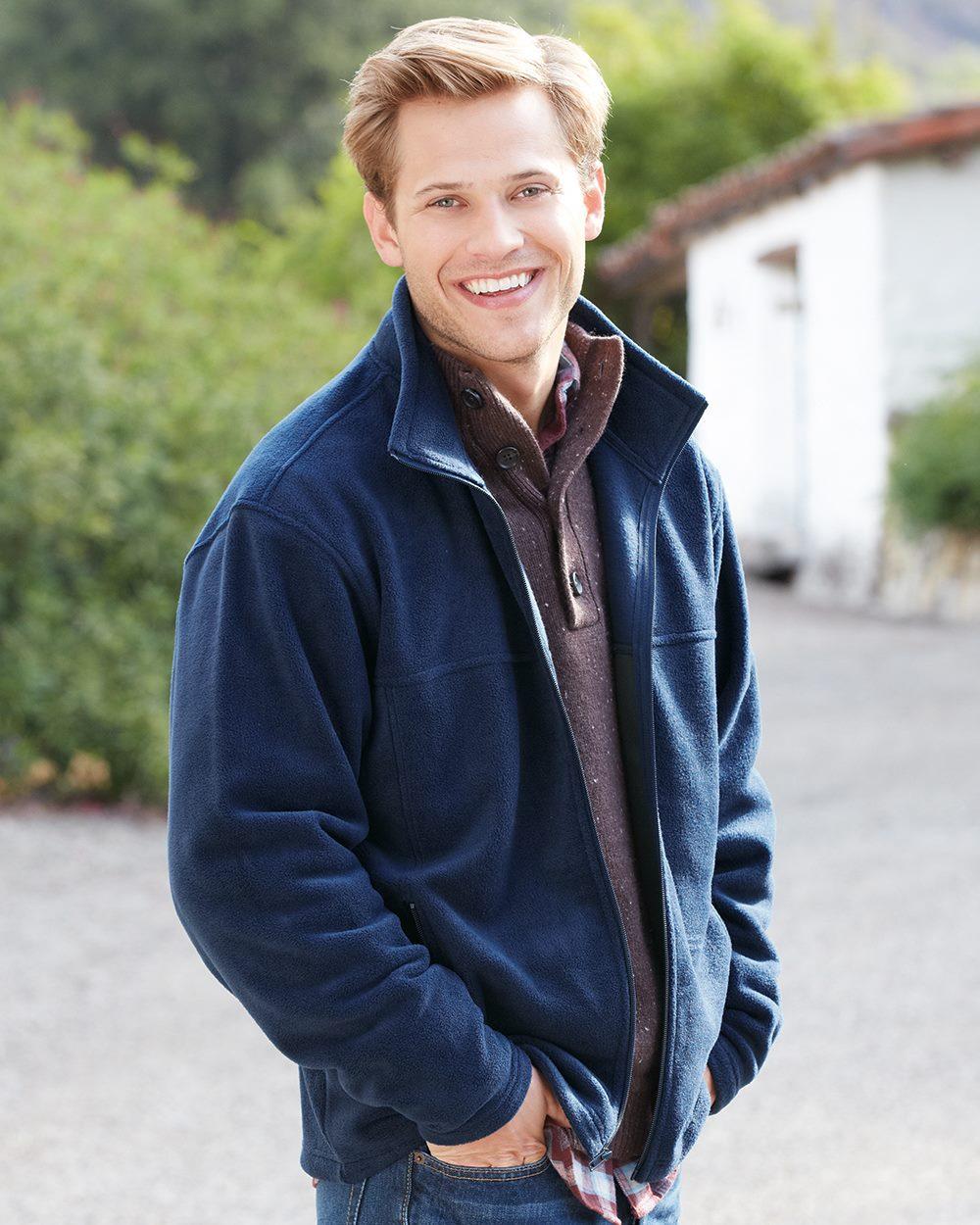 Colorado Clothing 9632 - Sport Fleece Full Zip Jacket