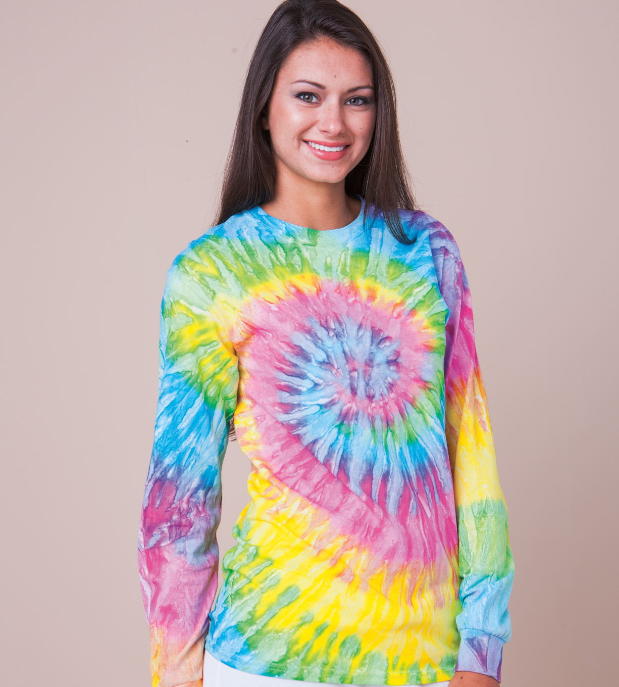 Colortone T2001- Color Tie Dye Long Sleeve