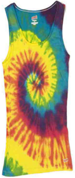 Colortone CT3001 - Multi Color Tie Dye Soffe Tank Top