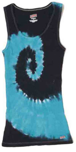 Colortone CT3001Y - Multi Color Tie Dye Soffe Youth Tank Top