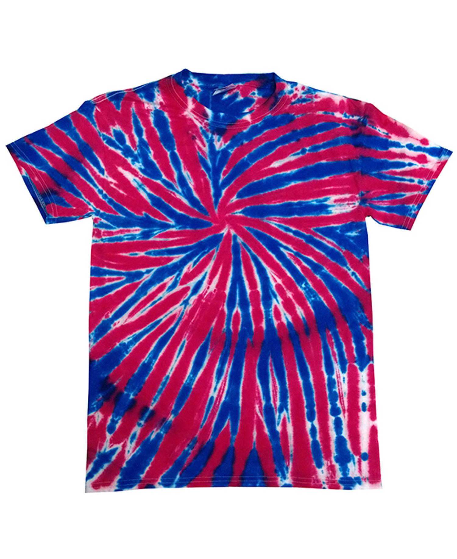 Colortone - T388R Union Jack Tie Dye