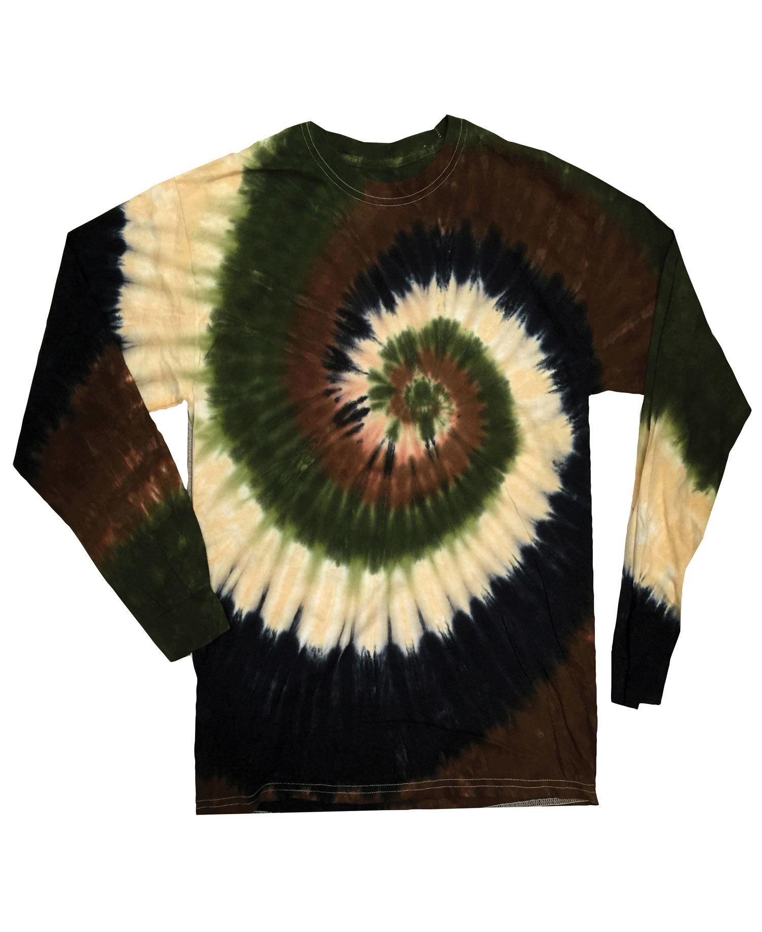 Colortone - T902P Camo Swirl Yth Long Sleeve