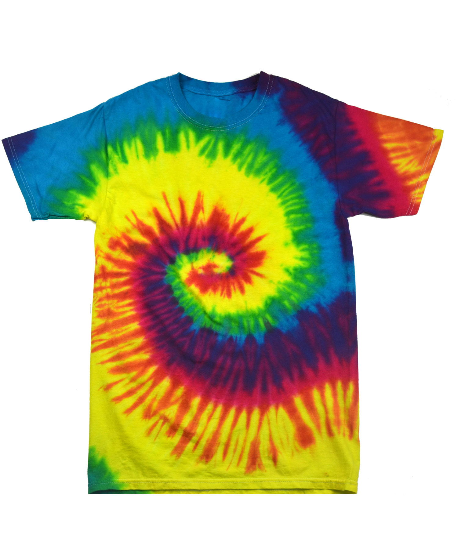 Colortone - T913R Youth Reactive Rainbow Long Sleeve ...