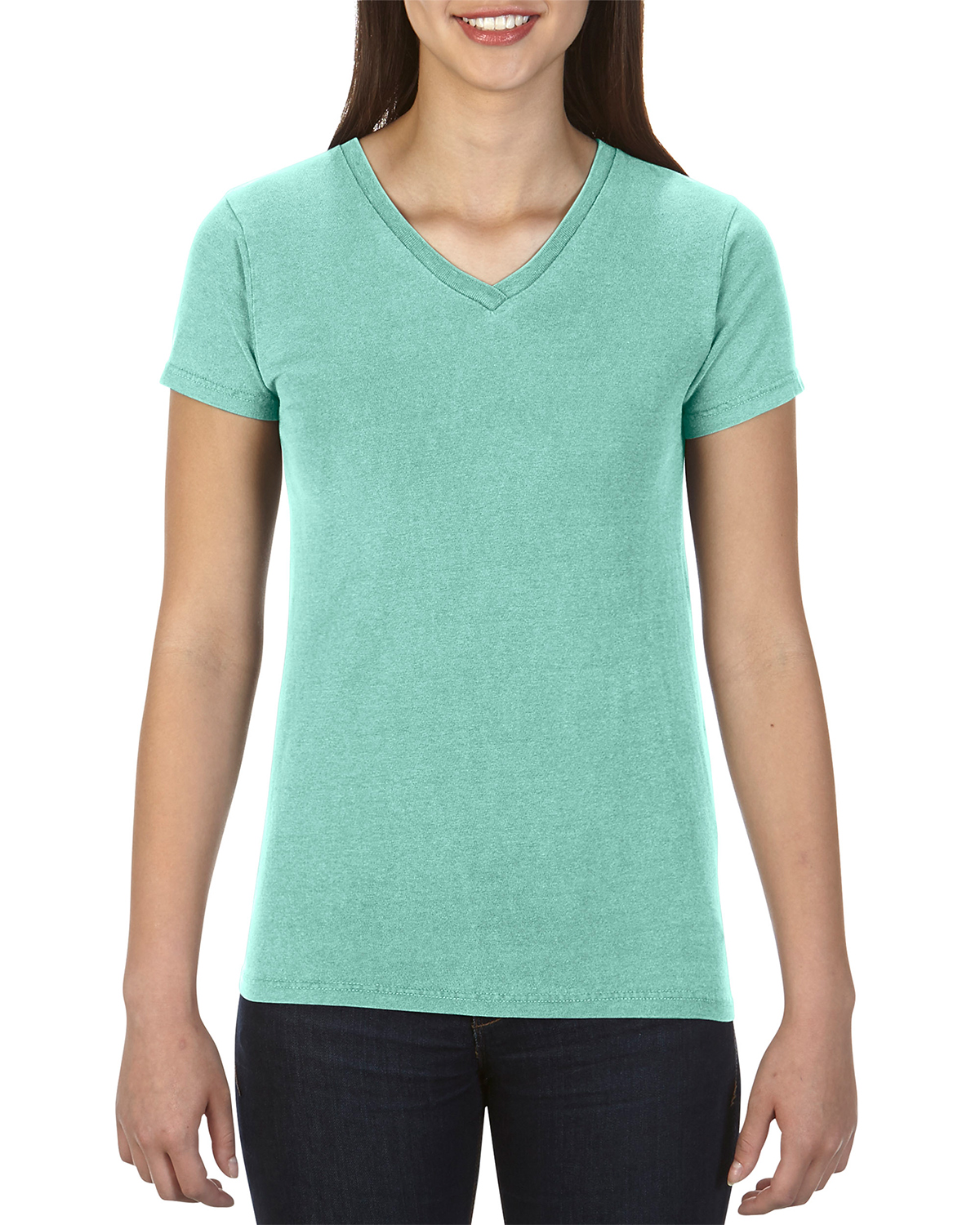 Comfort Colors Drop Ship - C3099 Ladies' 4.8 oz. Garment-Dyed V-Neck T-Shirt