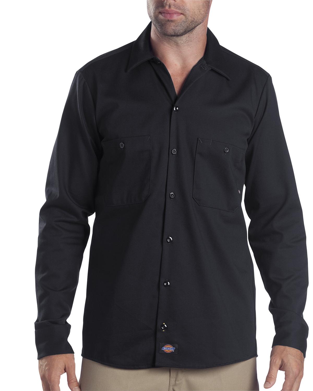 Dickies Drop Ship - LL307T Tall Industrial Long-Sleeve Cotton Work Shirt