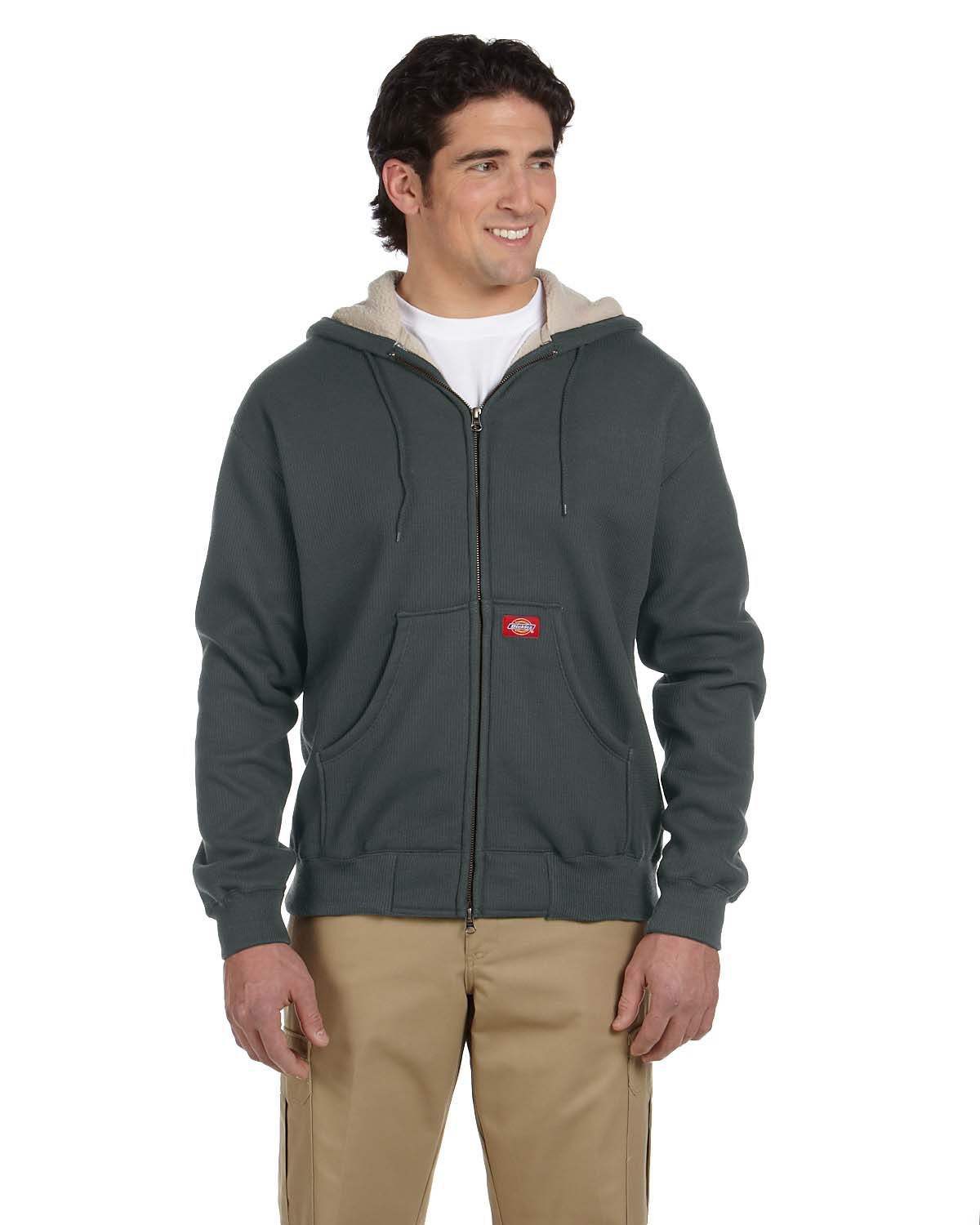 Dickies TW385  Bonded Waffle-Knit Hooded Jacket