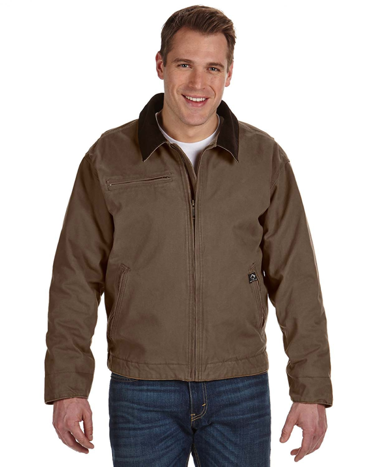 DRI DUCK 5087 - Outlaw Boulder Cloth Jacket w/Corduroy Collar