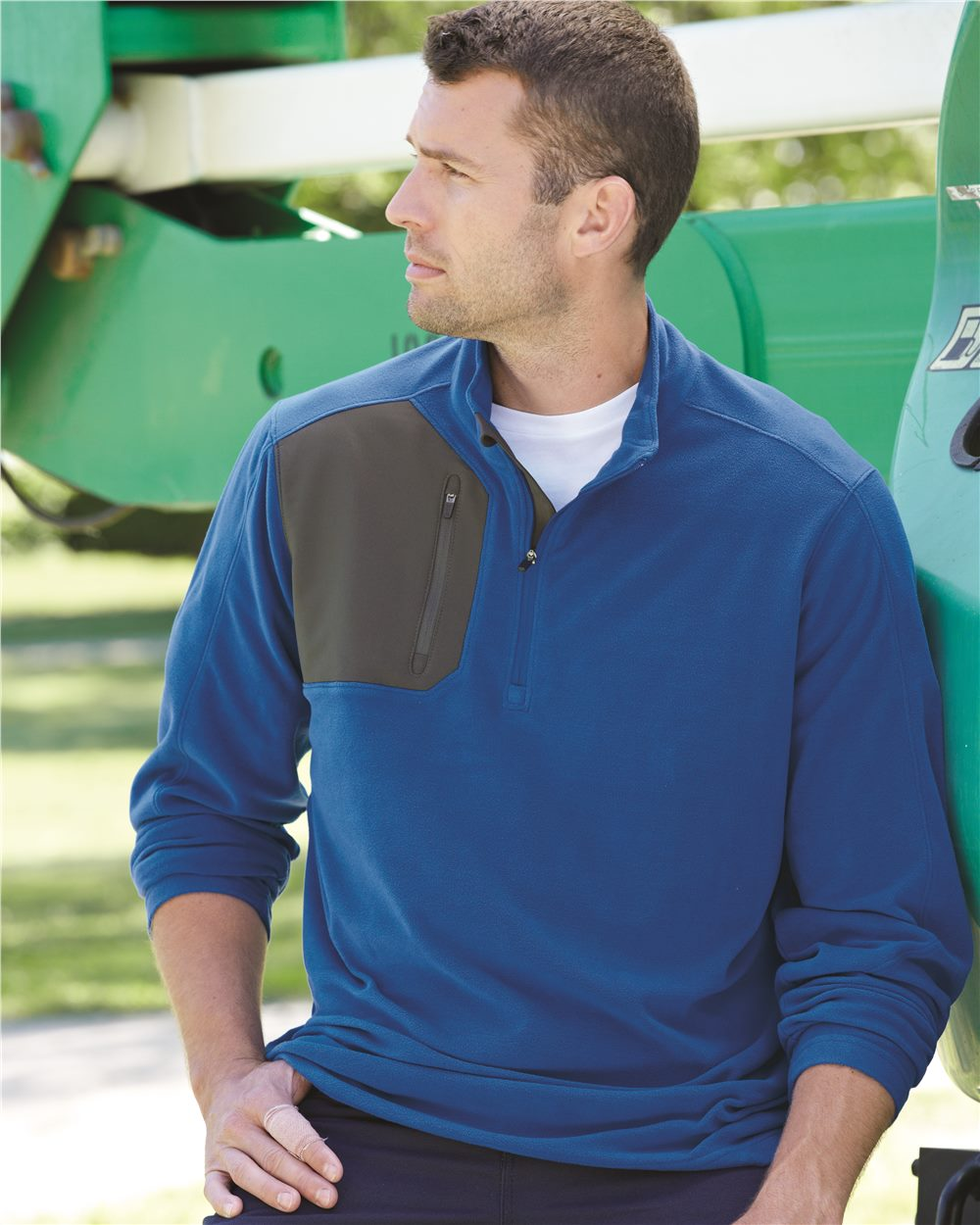 DRI DUCK 7345 - Interval DDX Quarter-Zip Nano-Fleece Nylon Pullover