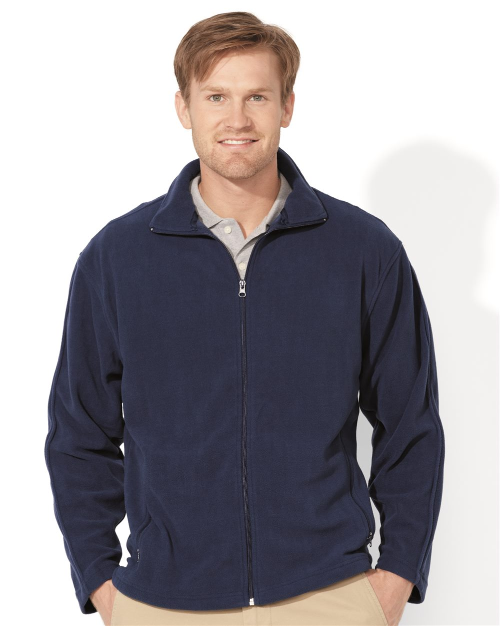FeatherLite 3301 - Moisture Resistant Microfleece Full-Zip Jacket