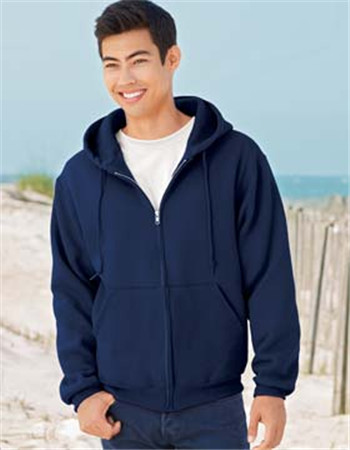 Fruit of the Loom 82230R Supercotton Full-Zip Hooded Sweatshirt