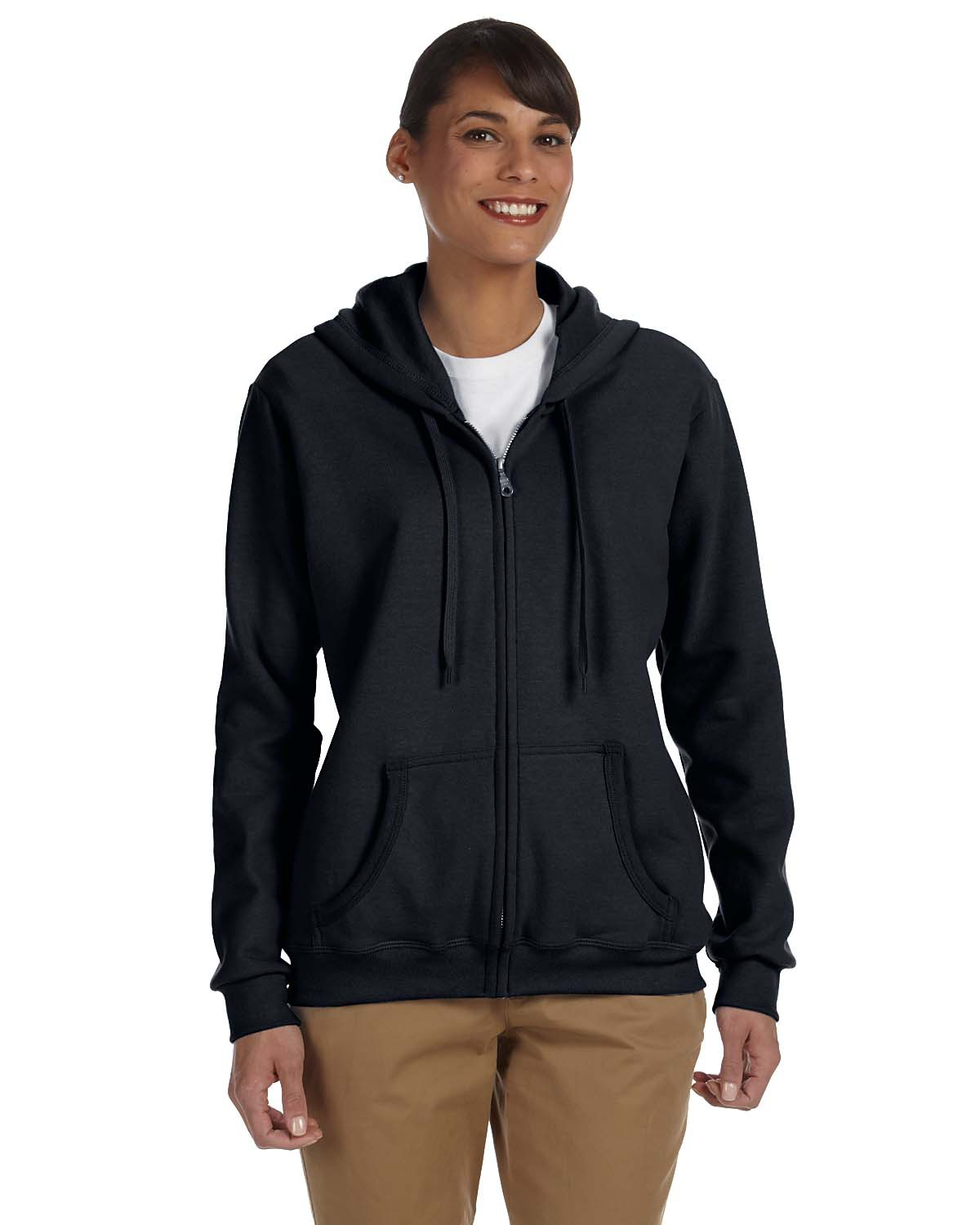 Gildan - Heavy Blend Ladies' Full-Zip Hooded Sweatshirt