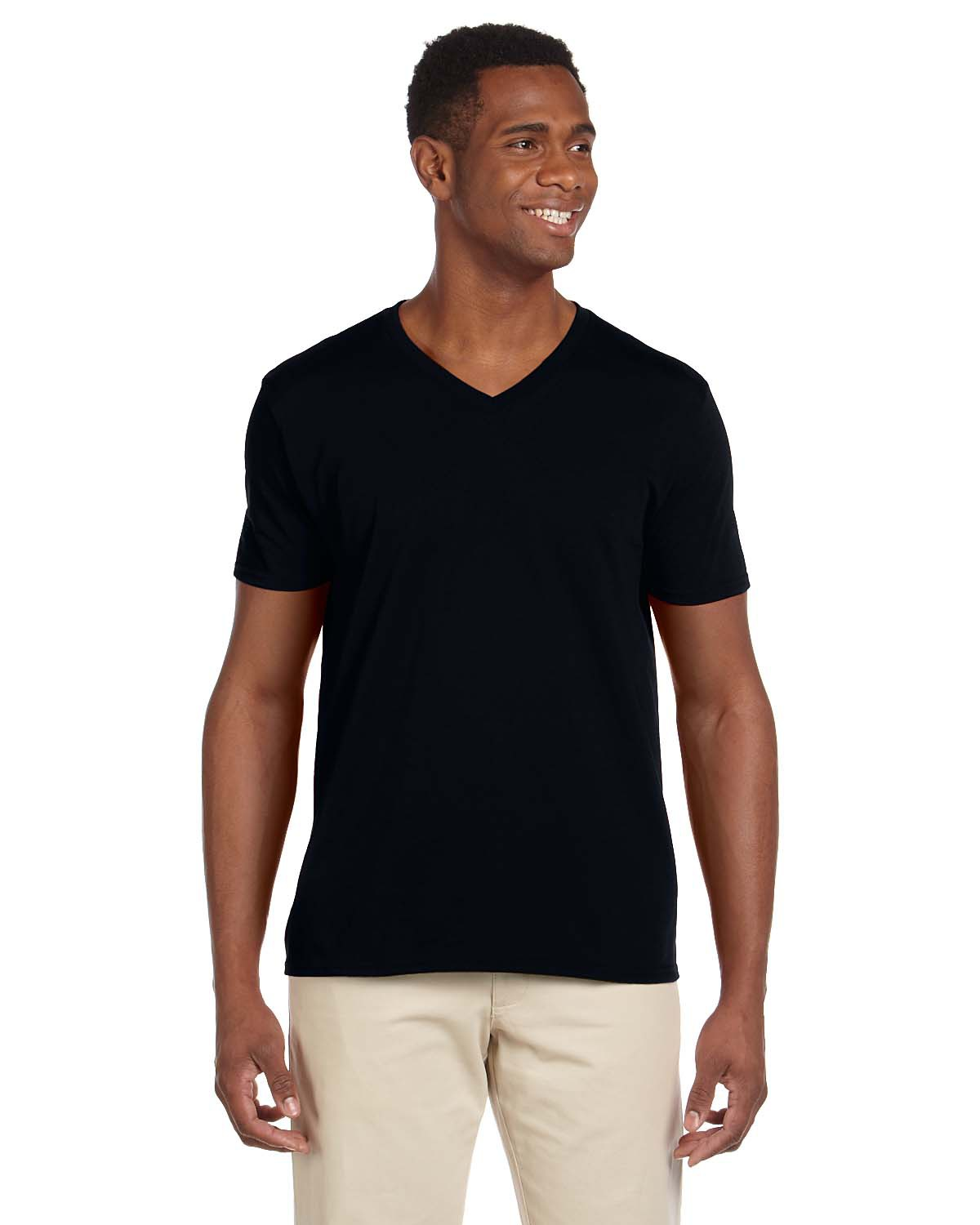 db08cb79 Gildan 64V00-Softstyle V-Neck T-Shirt $5.85 - Men's T-Shirts