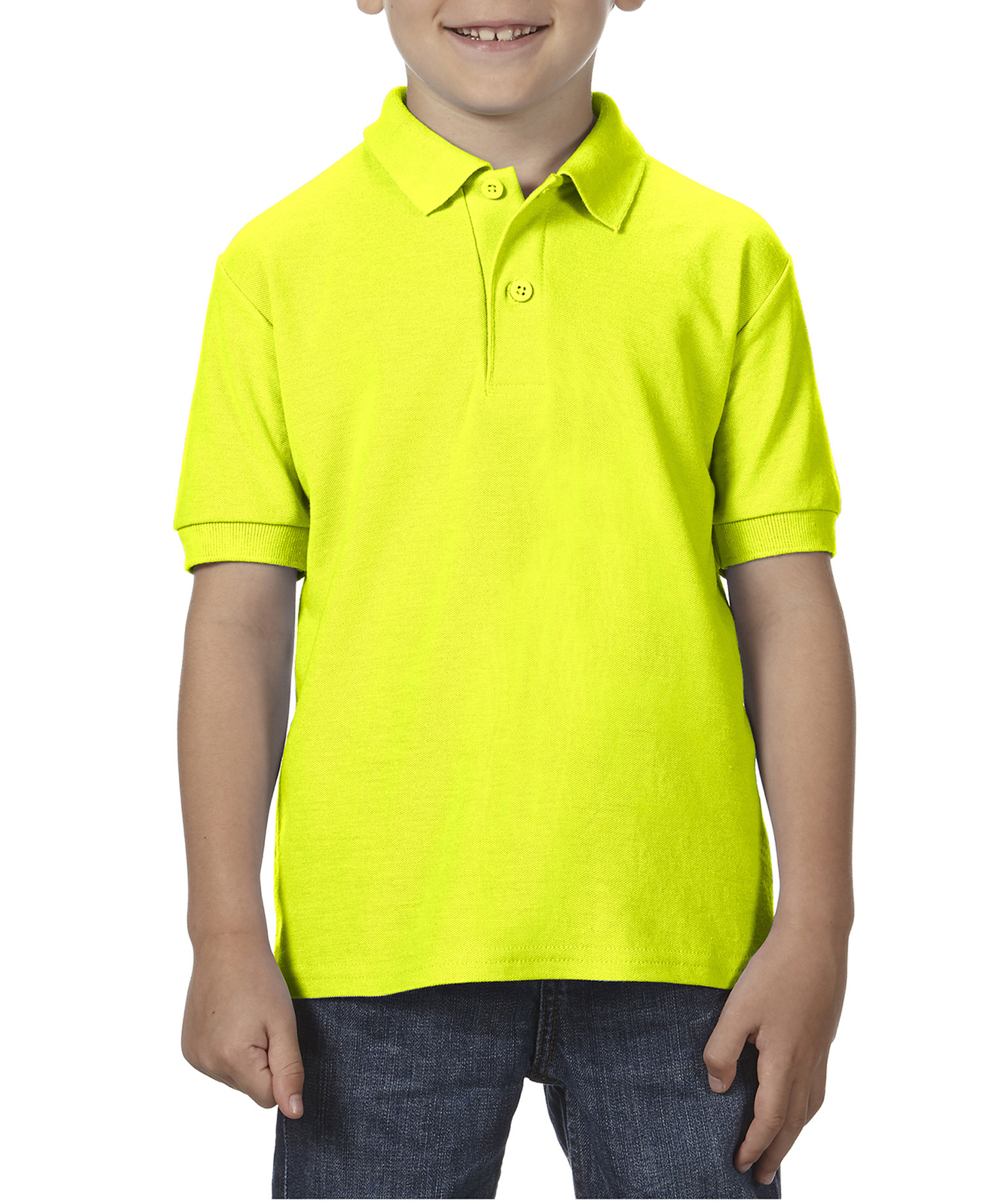 Gildan - G72800B Yth Dryblnd Dble Pq Sportshirt