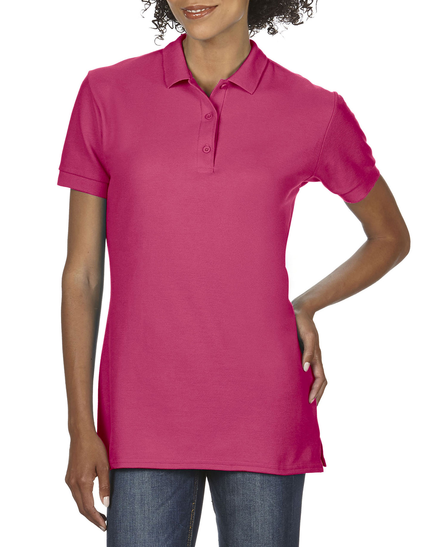 Gildan - G82800L Ladies Double Pq Sportshirt