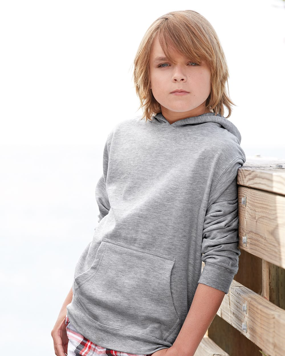Independent Trading Co. SS4001Y - Youth Midweight Hooded ...