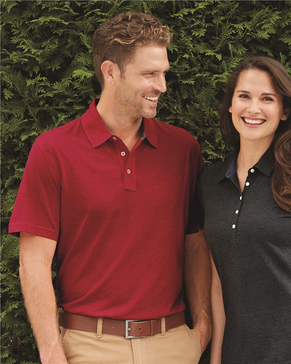 IZOD 13Z0133 - Heather Jersey Sport Shirt