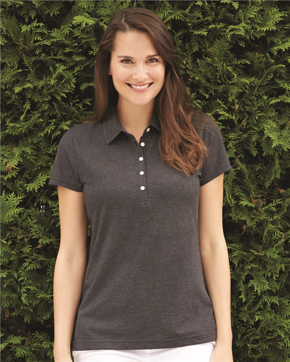 IZOD 13Z0136 - Women's Heather Jersey Sport Shirt
