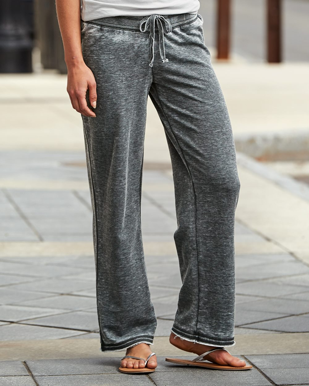 J. America 8914-Ladies Vanity Zen Fleece Sweatpant