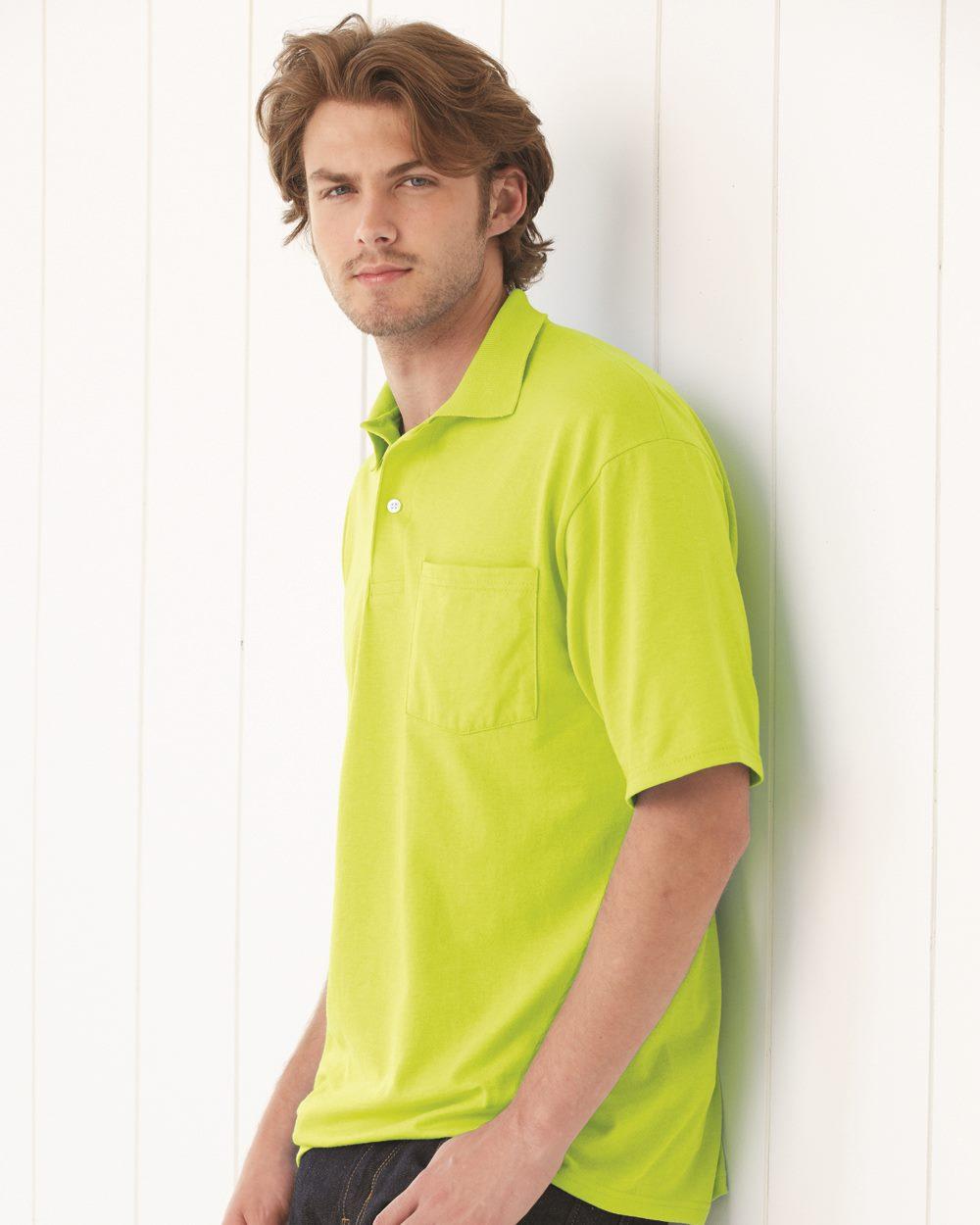 JERZEES 436MPR - SpotShield 50/50 Sport Shirt with a Pocket