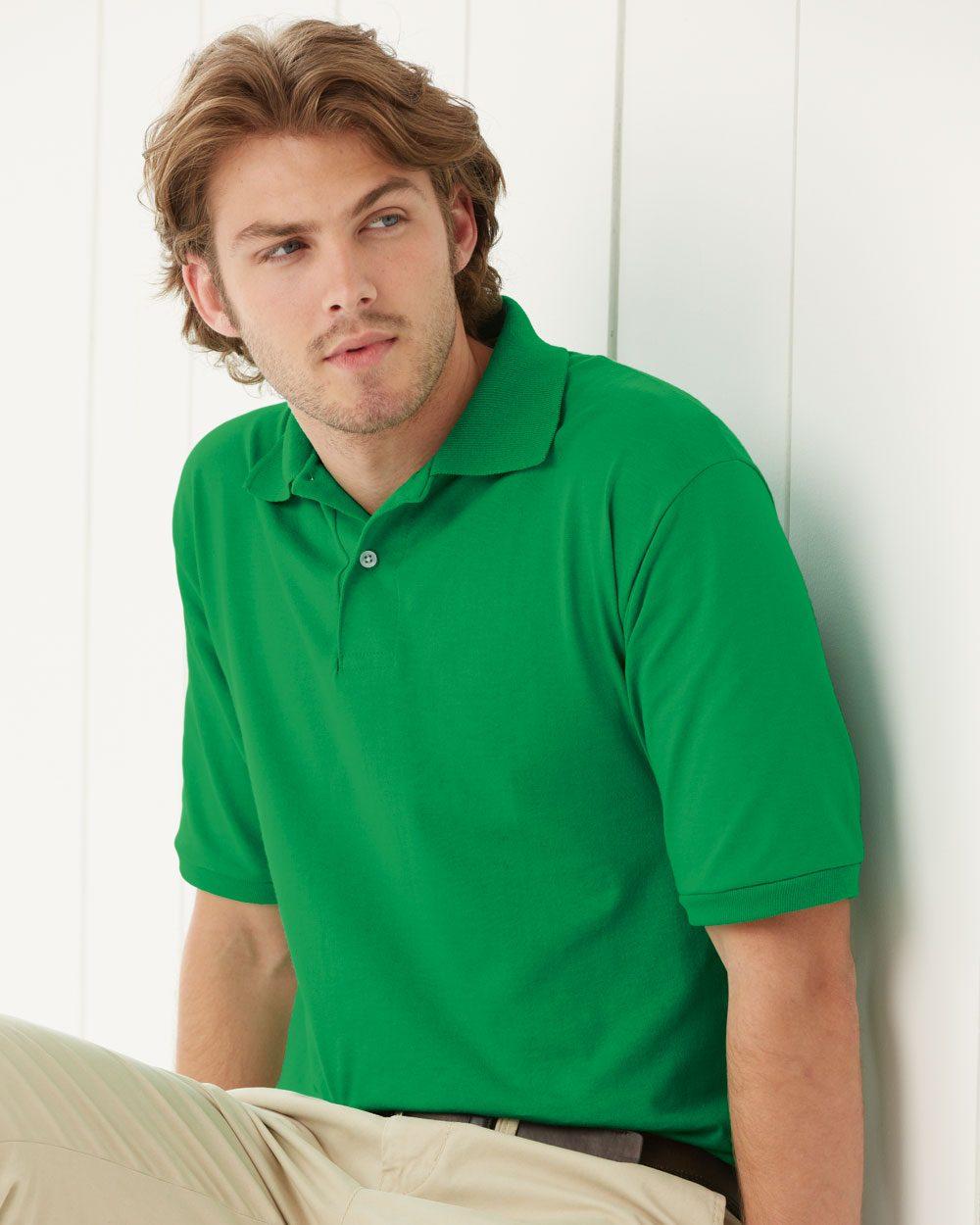JERZEES 437MSR - SpotShield 50/50 Sport Shirt
