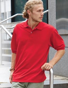 JERZEES 438MSR - SpotShield 50/50 Pique Sport Shirt