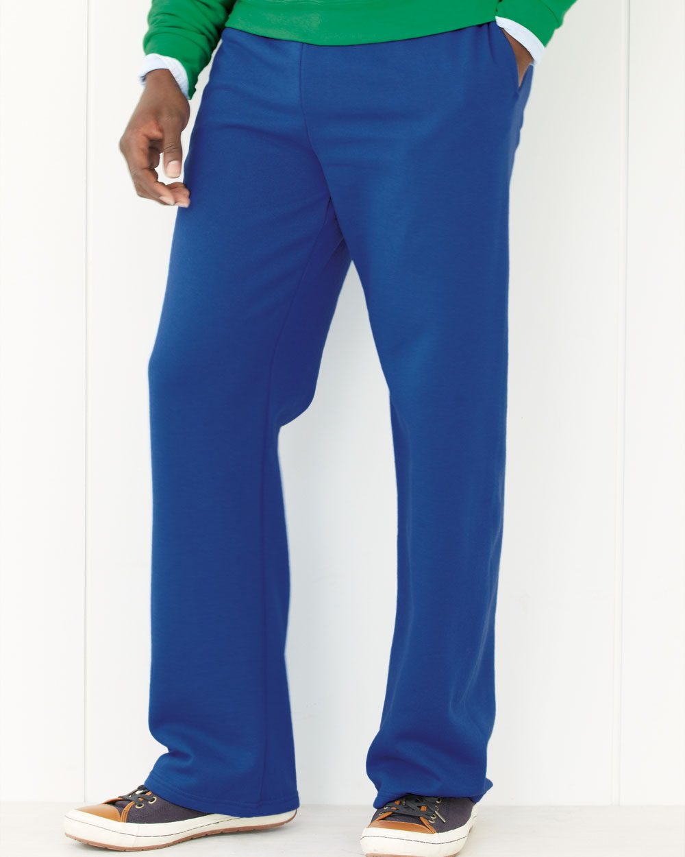 JERZEES 974MPR - NuBlend Open Bottom Pocketed Sweatpants