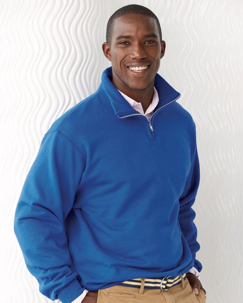 JERZEES 995MR - Nublend Cadet Collar Sweatshirt
