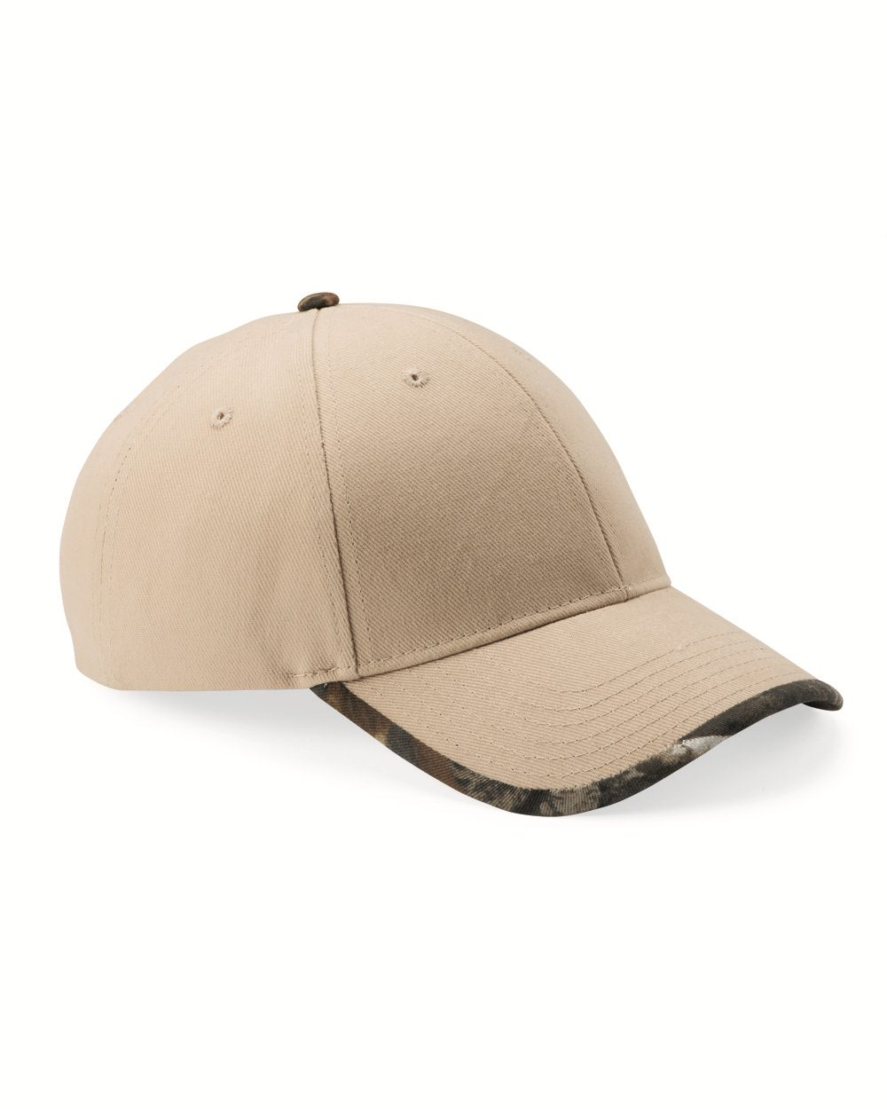 Kati LC26 - Solid Cap with Camouflage Bill
