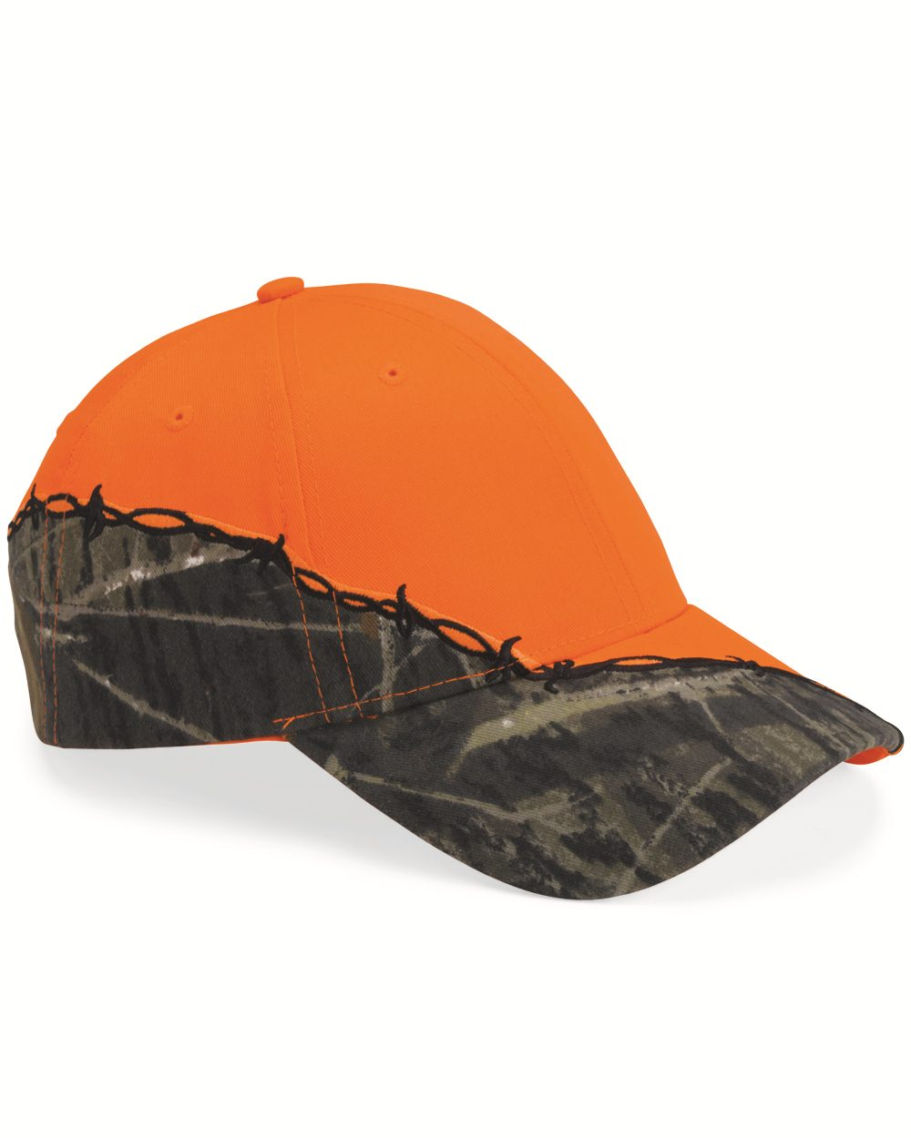 Kati LC4BW-Licensed Camo Cap with Barbed Wire Embroidery