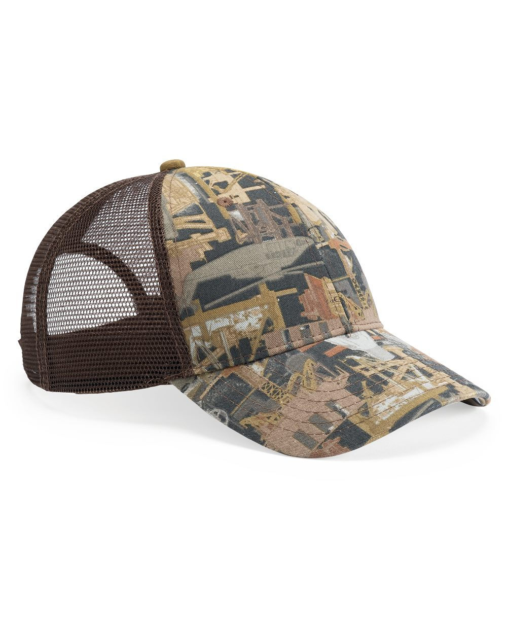 Kati OIL5M - Oil Field Camo Cap With Mesh Back