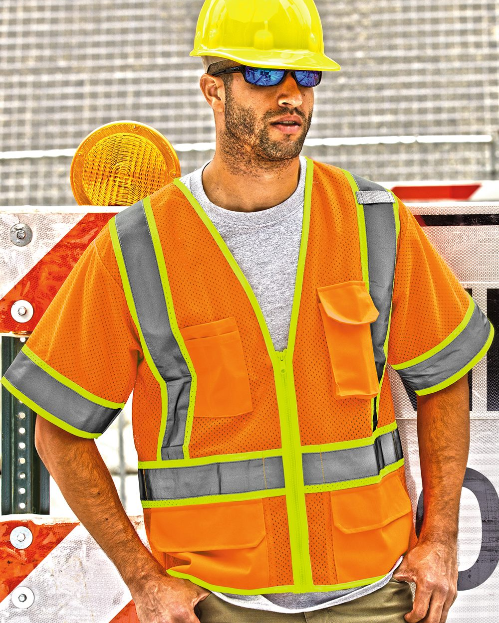 ML Kishigo 1242-1243 Ultra-Cool Mesh Surveyor's Vest