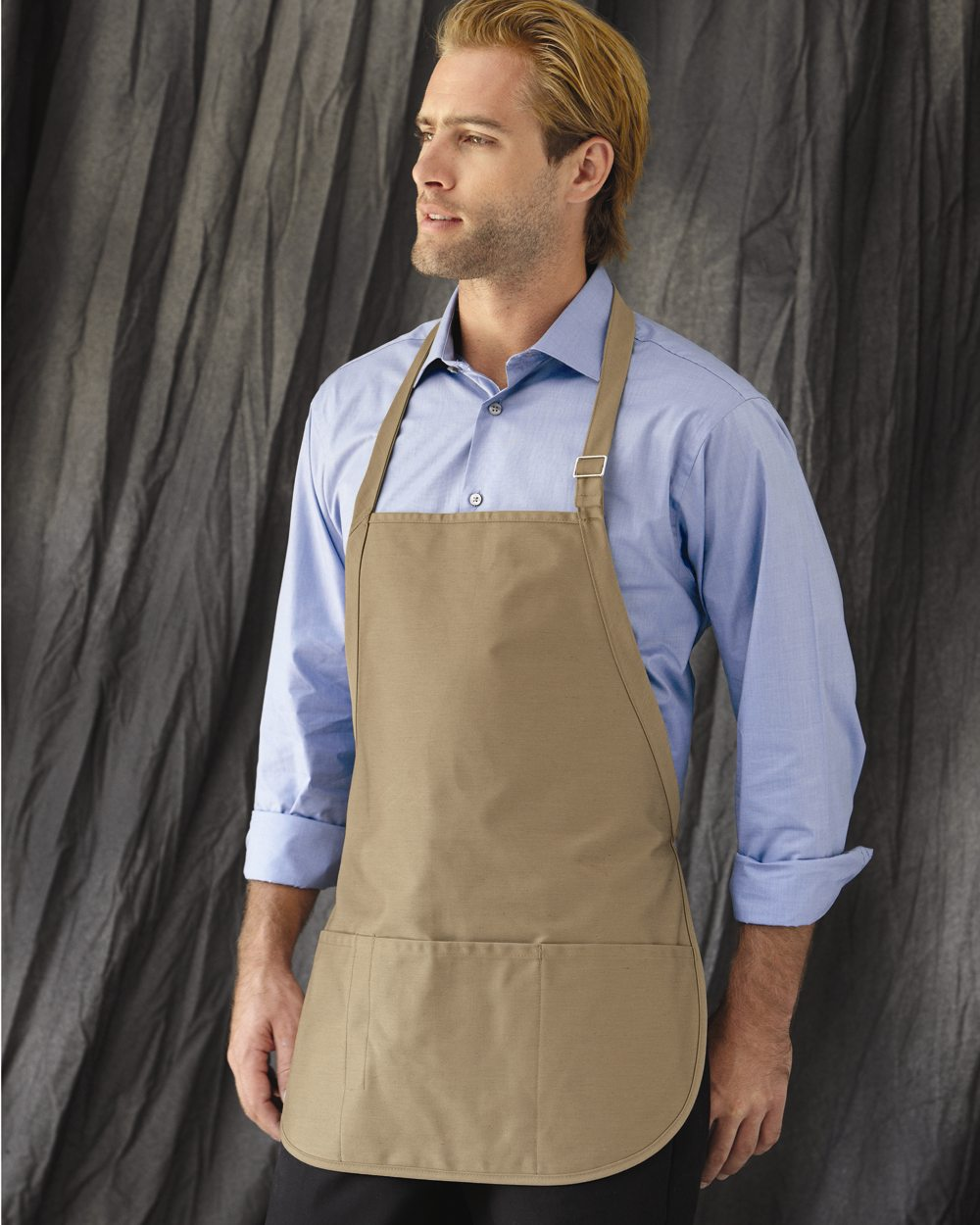 Liberty Bags 5507-Adjustable Neck Strap Three Pocket Apron